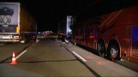 Un accident entre un car et un camion fait deux morts sur l'A6 - France 3 Bourgogne