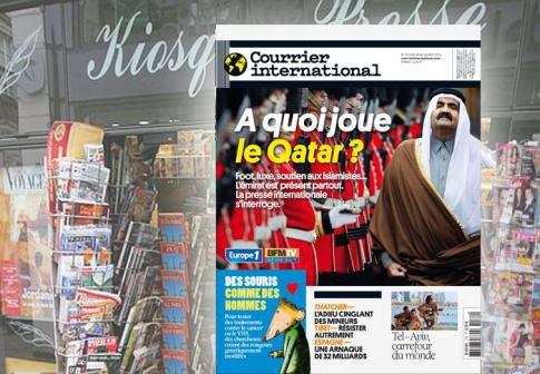 A LA UNE • A quoi joue le Qatar?