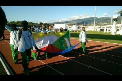 Jeux des Iles: La délégation Comorienne quitte le stade - Divers - Journal de l'île de la Réunion
