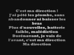 Ma direction Sexion d'assaut paroles