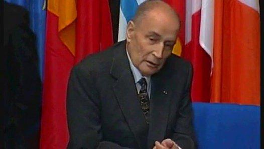 François Mitterrand à Strasbourg en 1995 - vidéo Dailymotion