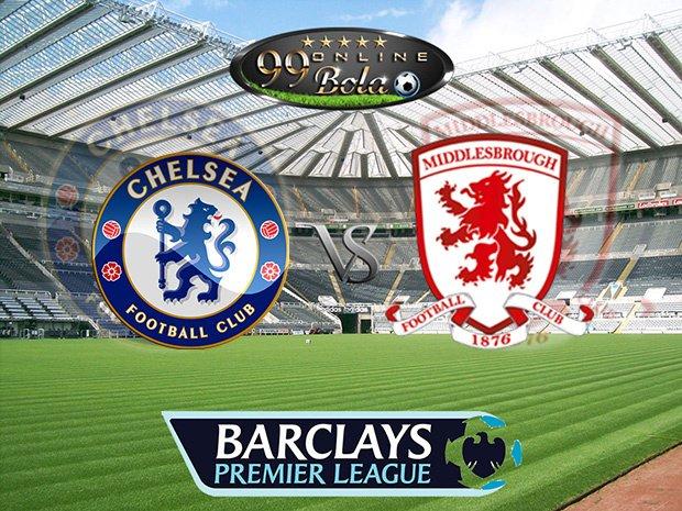 Prediksi Chelsea Vs Middlesbrough 9 Mei 2017