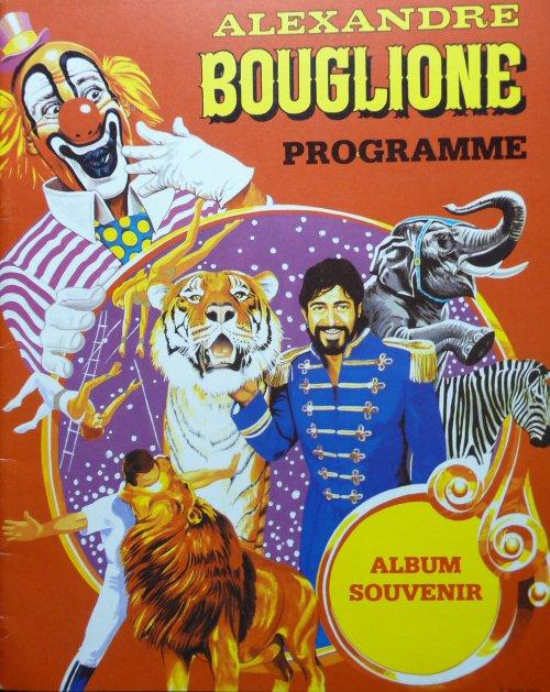 Programme Cirque Alexandre BOUGLIONE 1993