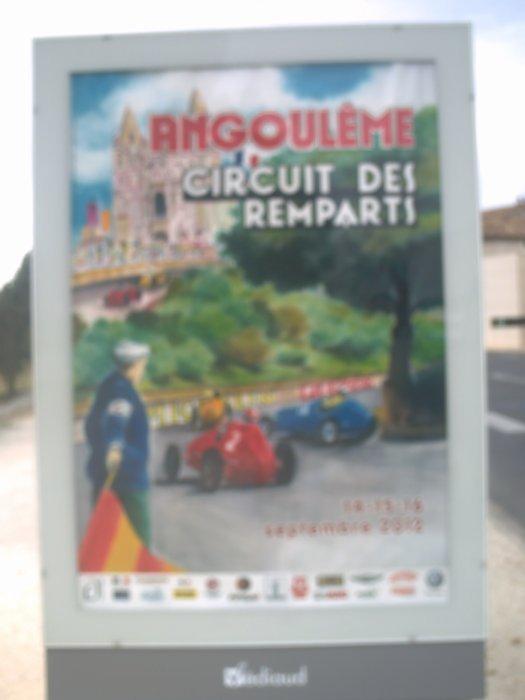 voitures de courses de collection, circuit des remparts des 14 15 et 16 septembre 2012