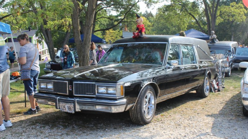 The creepiest cars at the 2017 Hell's Hearse Fest
