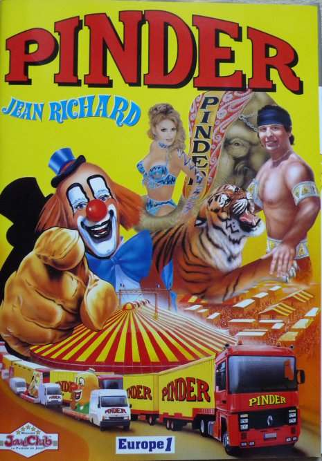Programme Cirque PINDER JEAN RICHARD 2000