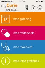 MyCurie, première application mobile entièrement personnalisée dans le domaine médical !