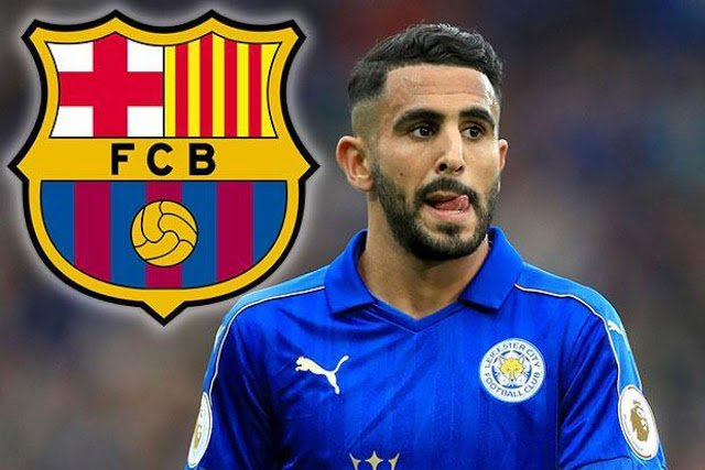 Leicester attacker Mahrez warns Barcelona: I've an offer from Arsenal - Daily Soccer News