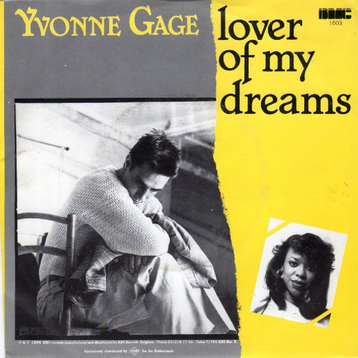 """Yvonne Gage ♥  """"LOVER OF MY DREAMS"""" (1984) [ Pinnacle Records ]"""
