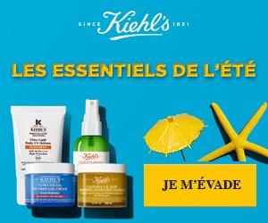 Les essentiels de l'été – Kiehl's Since 1851 – rosmade