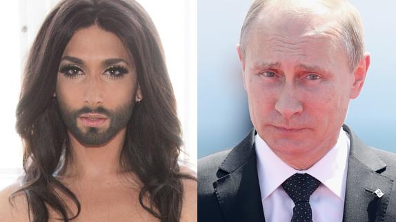 Eurovision : Vladimir Poutine veut quitter le Concours après la victoire de Conchita Wurst