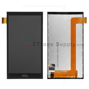 HTC Desire 820 Mini LCD Screen and Digitizer Assembly Black - ETrade Supply