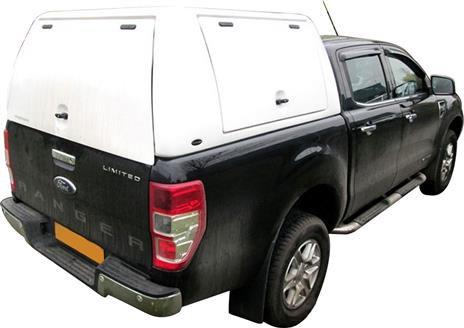 HARD TOP TOIT HAUT UTILITAIRE FORD RANGER 2012+ SINGLE CAB avec