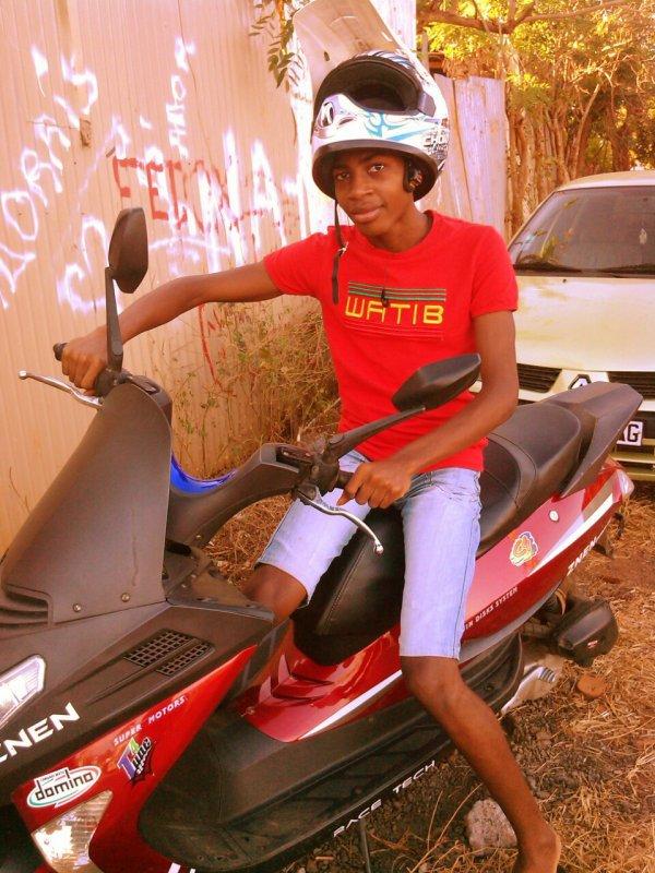 Moi é mon scooter
