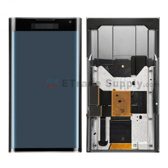 BlackBerry Priv LCD Screen and Digitizer Assembly with Frame Black - ETrade Supply