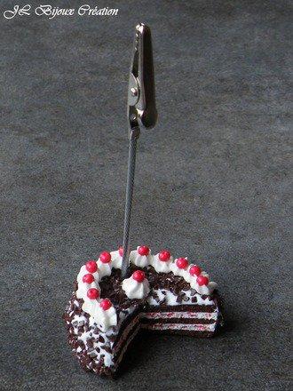 Porte Photos gâteau forêt noire : Accessoires de maison par jl-bijoux-creation