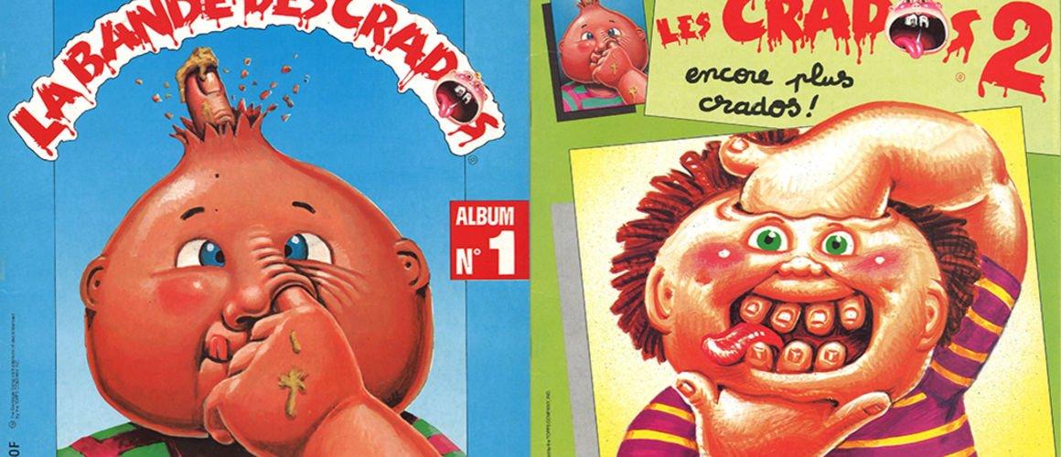 Les Crados, les cartes qu'on collectionnait tous dans les années 90, reviennent !