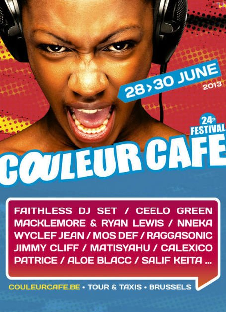 COULEUR CAFE • 28-29-30.06.2013 • CHRONYX.be of...