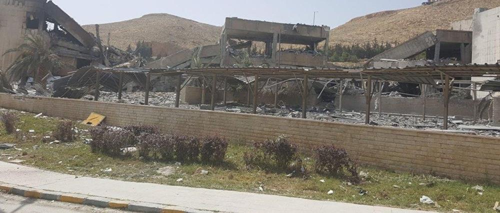 Un centro bombardeado por EEUU en Damasco fabricaba medicamentos contra elcáncer