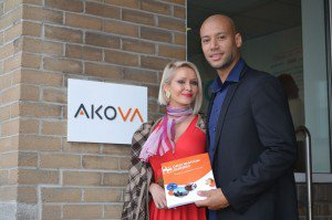 Tatiana et Xavier, un couple d'entrepreneurs français, jeunes et ambitieux qui débarquent au Québec