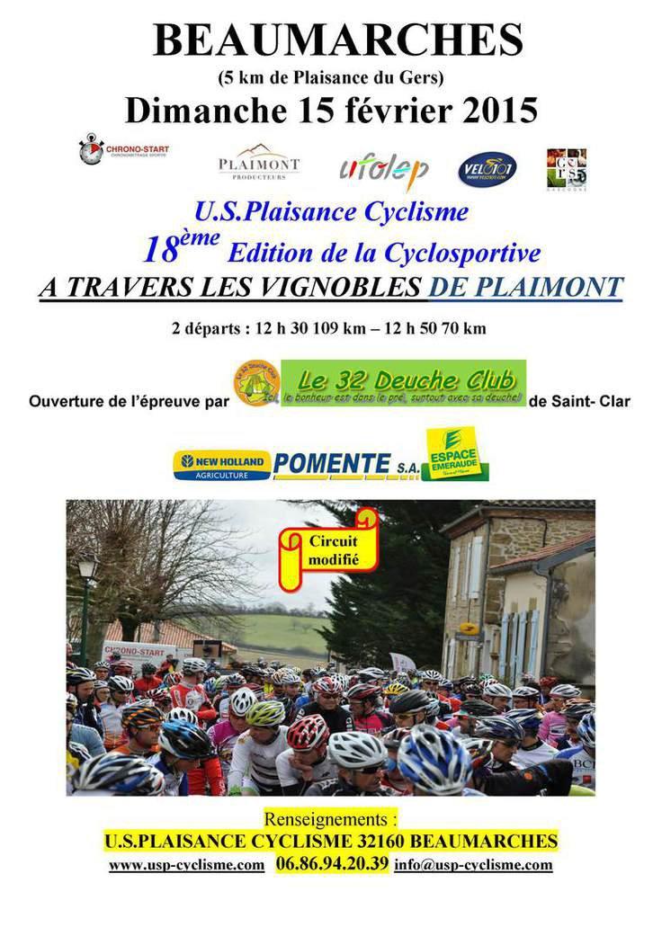 Les premieres cyclosportives 2015 arrive !!!