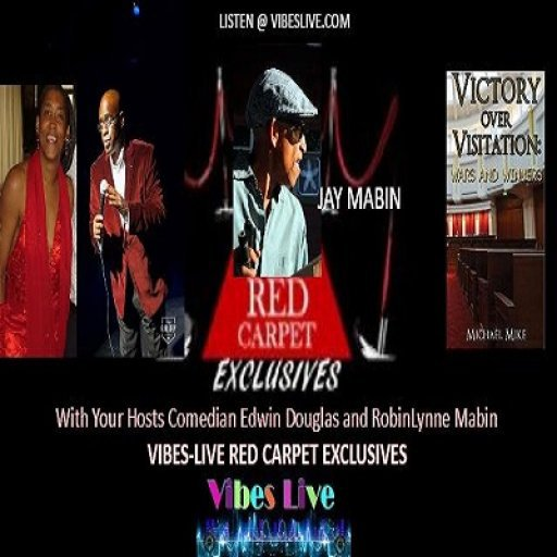 VIBES-LIVE RED CARPET EXCLUSIVES - JAY MABIN