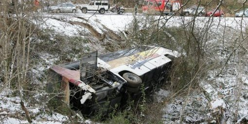 Accident de car à Aubertin en 2012 : la signalisation en cause