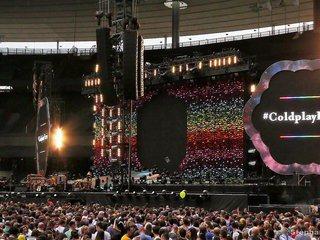 Coldplay à Paris