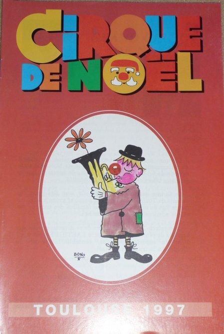 Programme Cirque de Noël de Toulouse 1997