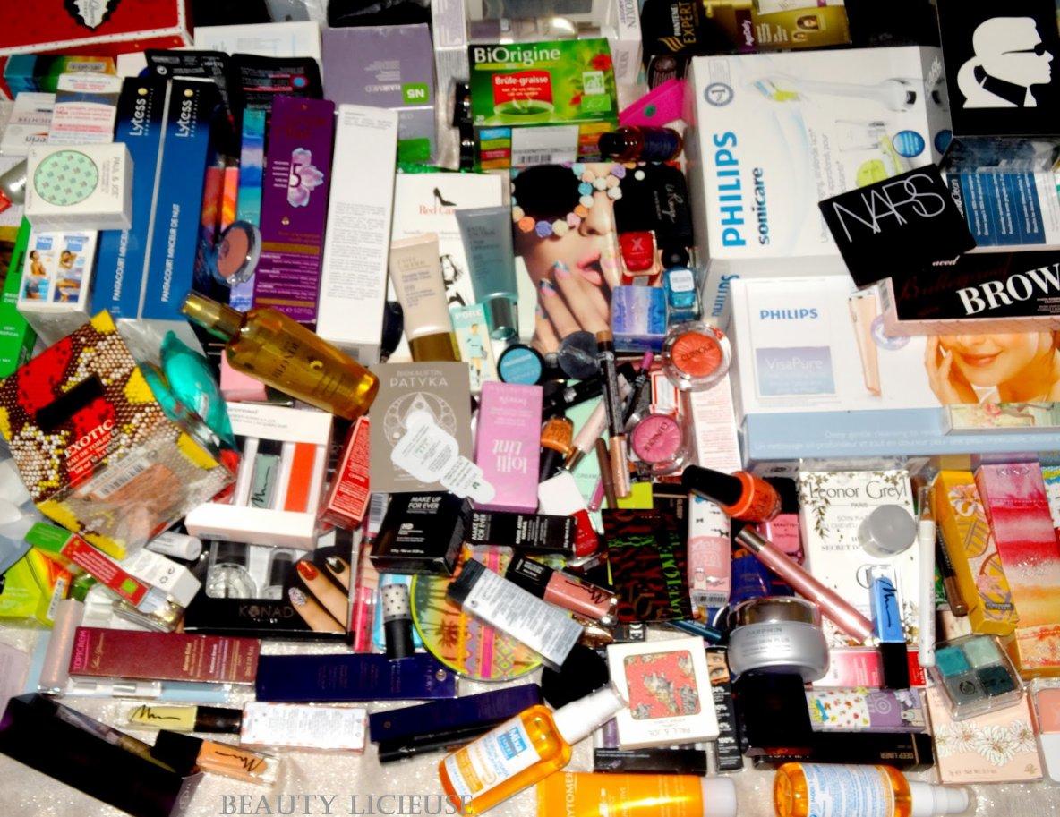 BEAUTY LICIEUSE:  - Beautylicieuse Box Anniversaire (4 ans) soit presque 3000¤ de produits à gagner !