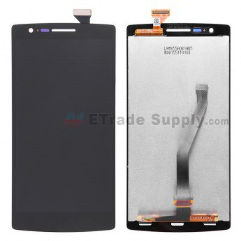 OnePlus One LCD Screen and Digitizer Assembly Black - ETrade Supply