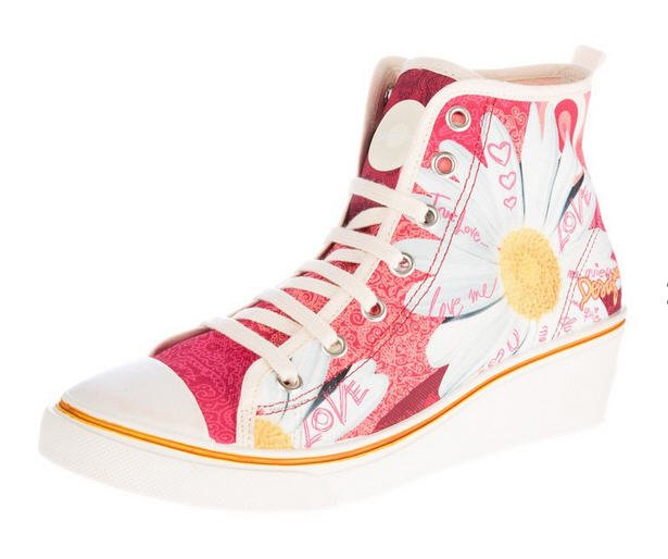 cheap prices sale uk on feet at Desigual Baskets montantes rose - Zalando - Tendance Mode Femme