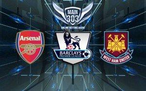 Prediksi Arsenal vs West Ham United 14 Maret 2015 Premier Le