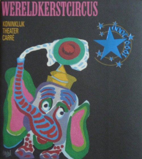 Programme WERELDKERSTCIRCUS 1999-2000