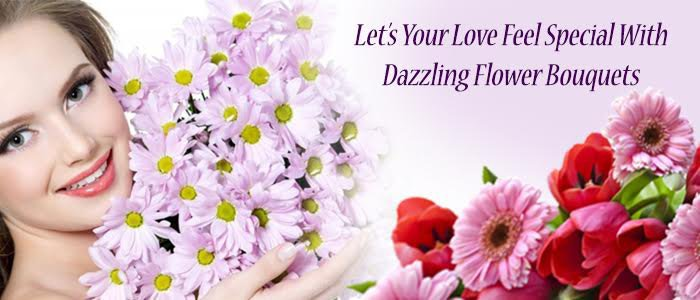 Make Your Wife Special by Sending Stunning Flower Bouquets