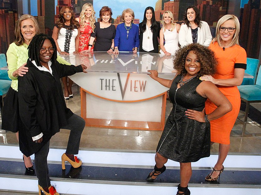 The View Reunion! -- All 11 Hosts Unite for Taping of Barbara Walters' Last Show