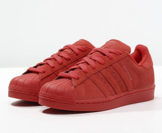 adidas originals superstar rt baskets basses red baskets femme zalando tendance mode femme. Black Bedroom Furniture Sets. Home Design Ideas