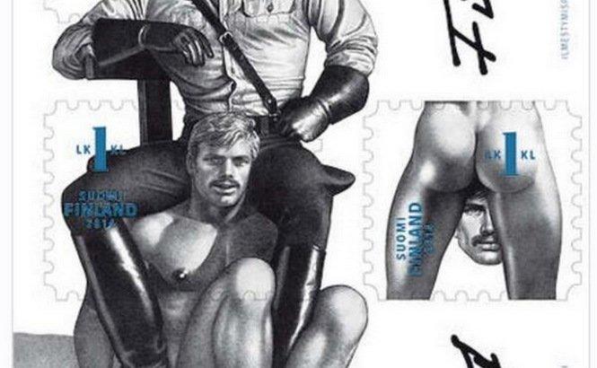 Succès mondial pour les timbres Tom of Finland | Têtu, Le site du magazine gay