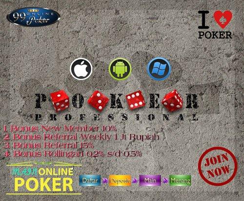 Langkah Cara Mendaftar Live Poker