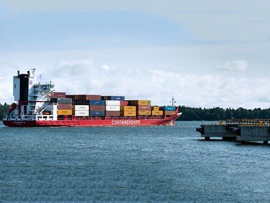Port of Helsinki's cargo traffic surge   Shipping
