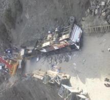 Maroc: 42 morts après la chute d'un autocar dans un ravin au sud de Marrakech