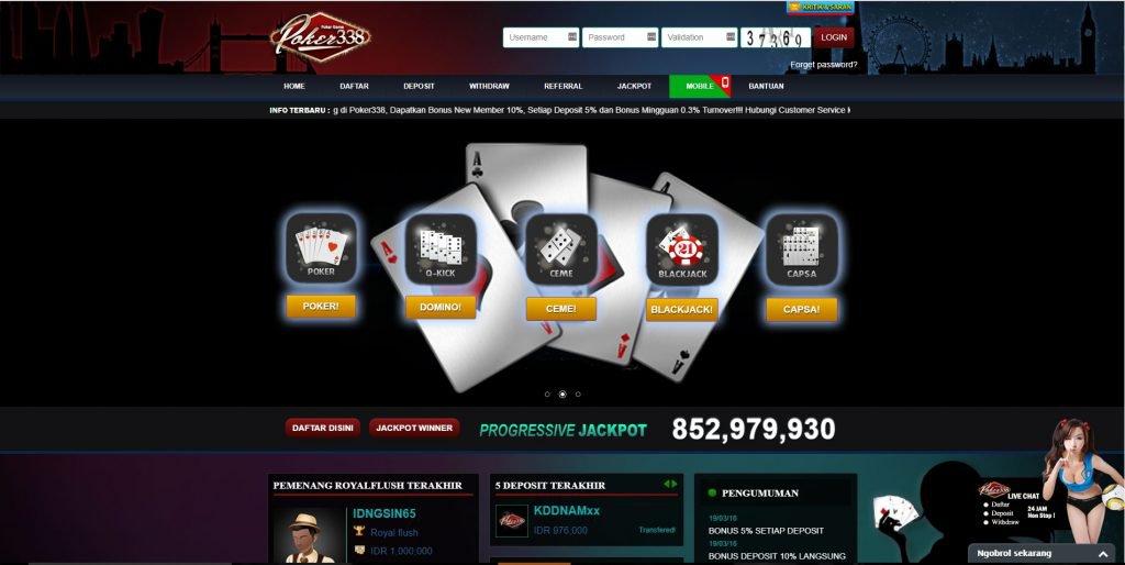 Link Alternatif Judi Poker Online POKER338 | Promo Poker Online