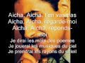 aicha by khalid with lyrics.wmv