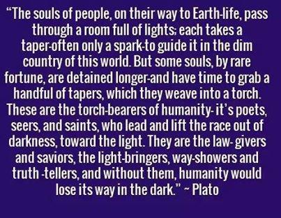 PLATO SAYS.....