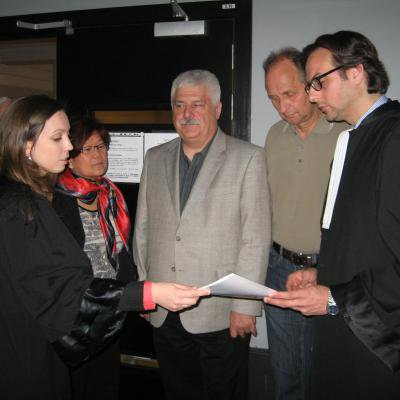 Tribunal de police à Mons: 11 morts dans un accident de car à Hensies en décembre 2003