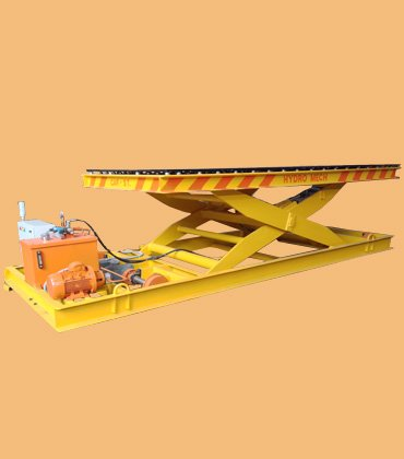 Scissor Lift, Conveyor system, Handling systems for plywood, Goods Lift Manufacturers - HYDRO MECH Engineers Ahmedabad