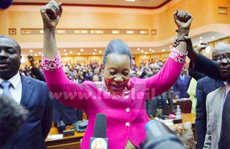 Catherine Samba-Panza élue présidente de la transition