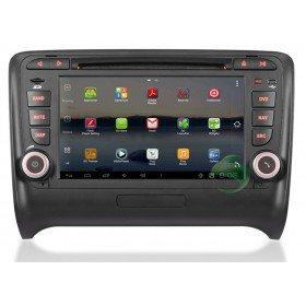 Android 4.0 Auto DVD Player GPS Navigationssystem für Audi TT(2006 2007 2008 2009 2010 2011)