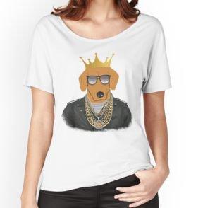 'SwagDog' T-shirt échancré by Ali-87