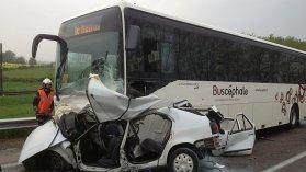 Saône-et-Loire : collision mortelle entre une voiture et un bus à Beaumont-sur-Grosne - France 3 Bourgogne